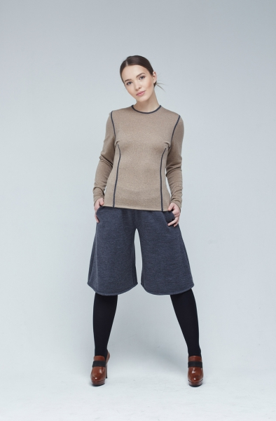 Crop Trousers1