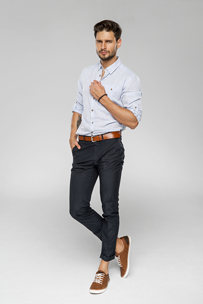 Slim-Fit Cotton Chinos1