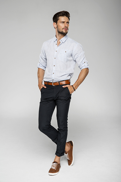 Slim-Fit Cotton Chinos3