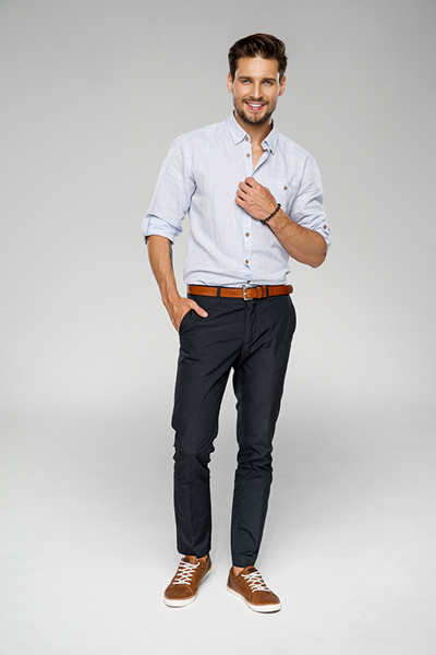 Slim-Fit Cotton Chinos4