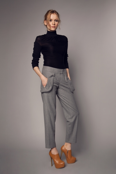 Straight Grey Trousers1